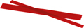 Flexaponal® special wax, red, 200 x 10 mm, Thickness 1.0 mm